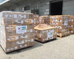 В Узбекистан направлен очередной гуманитарный груз из Республики Корея
