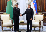 The President of Uzbekistan receives Deputy Chairman of Turkmenistan's Cabinet of Ministers