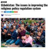 Опыт Узбекистана в обеспечении свободы вероисповедания в фокусе внимания СМИ Европы