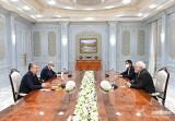 Президент Узбекистана принял министра иностранных дел Ирана