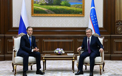 Президент Республики Узбекистан принял делегацию России