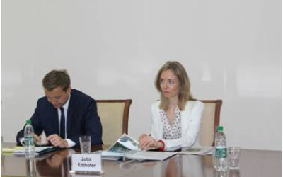 Meeting with EU delegation