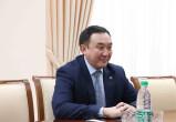 Qirg'izistonlik diplomat bilan uchrashuv