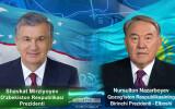 O'zbekiston Prezidenti Qozog'istonning Birinchi Prezidenti bilan telefon orqali muloqot qildi