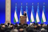 Президент начал свое обращение к Олий Мажлису с Посланием