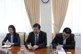 Meeting with representatives of Chinese academy of international problems