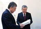 Президенты ознакомились с экспозицией книг