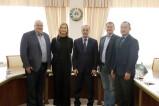 Representatives of ISRS met the Danish delegation