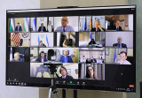 Проведены онлайн-консультации с главами дипломатических миссий США и стран ЕС, а также представительств международных организаций и финансовых институтов в Узбекистане