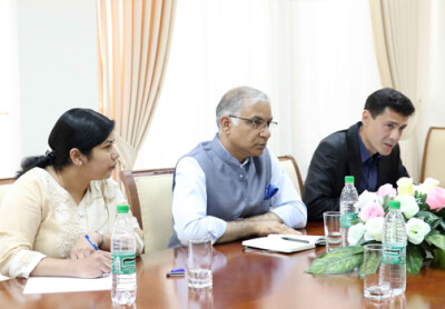 Meeting with the Ambassador of India