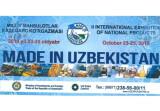 Международная выставка национальной продукции «made in Uzbekistan»