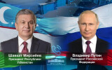 President of Uzbekistan holds a phone call with the President of Russia
