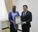 Meeting with Ambassador of the USA
