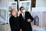 Президент осмотрел строительство нового центра и дал свои рекомендации