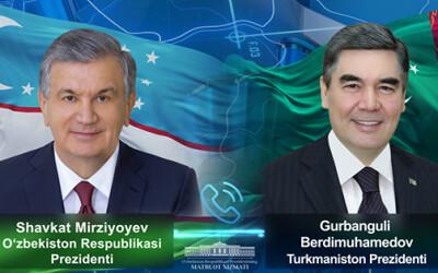 Лидеры Узбекистана и Туркменистана обсудили ход подготовки к саммиту глав государств региона