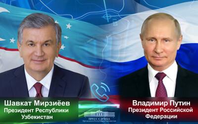 O'zbekiston va Rossiya yetakchilari ikki tomonlama va mintaqaviy hamkorlik masalalarini muhokama qildilar