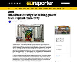 Стратегия Узбекистана по выстраиванию большой трансрегиональной коннективности в фокусе внимания СМИ Европы