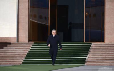 Shavkat Mirziyoyev departs for Bukhara