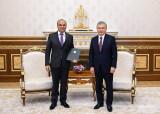 Президент Узбекистана принял посла Таджикистана
