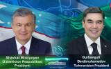 Туркманистон Президенти Ўзбекистон Президентини самимий қутлади