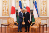 Президент Республики Узбекистан принял заместителя Премьер-министра Японии