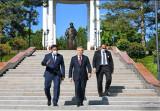 В Ташкенте открыта Аллея литераторов