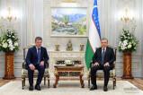 Шавкат Мирзиёев принял делегацию Российской Федерации