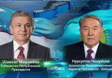Shavkat Mirziyoyev talks with the First President of Kazakhstan on the phone