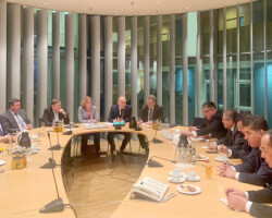 A visit of Uzbek delegation to Germany