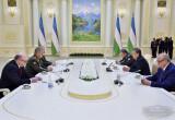 Prezident.uz: O'zbekiston Respublikasi Prezidenti Rossiya Federatsiyasi mudofaa vazirini qabul qildi
