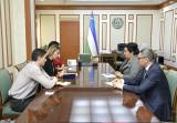 Встреча с постоянным представителем ПРООН в Узбекистане