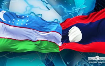 Поздравление Президенту Лаоса