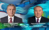 President of Uzbekistan and the First President of Kazakhstan hold a phone call