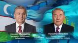 Президент Узбекистана и Первый Президент Казахстана рассмотрели актуальные вопросы сотрудничества