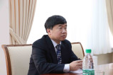 Meeting with expert from China