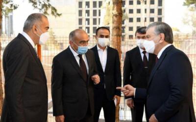 Президент ознакомился со строительством IT-парка