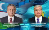 Presidents of Uzbekistan and Kazakhstan speak by phone