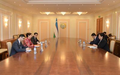 Встреча с Постоянным координатором проектов ООН в Узбекистане