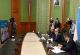 Первая встреча министров иностранных дел «Центральная Азия – Китай»