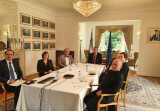 EIAS and ISRS discuss enhanced cooperation in combating COVID-19
