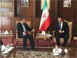 Встреча Директора Института стратегических и межрегиональных исследований Владимира Норовас Министром иностранных дел Ирана Джавадом Зарифом