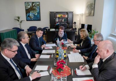 О встречах в парламенте Австрии