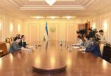 Встреча с главой представительства Фонда ООН в области народонаселения (ЮНФПА) в Республике Узбекистан