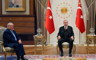 Абдулазиз Камилов провел переговоры с Президентом Турции