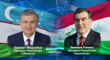 Лидеры Узбекистана и Таджикистана обсудили ситуацию в регионе
