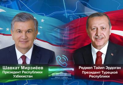 Ўзбекистон ва Туркия Президентлари икки томонлама кун тартибидаги масалаларни муҳокама қилдилар