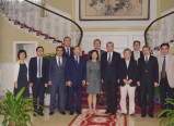 Presentation of Uzbekistan's initiatives in Beijing