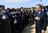 Глава государства встретился с жителями Мирзаабада