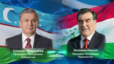 Leaders of Uzbekistan, Tajikistan hold a phone call