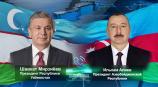 Состоялся телефонный разговор лидеров Узбекистана и Азербайджана